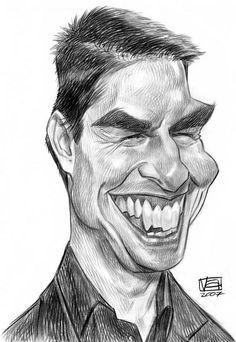 [ Tom Cruise ]  - artist: Vincent Altamore - website: http://vincentaltamore.blogspot.com/