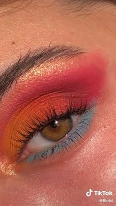 Edgy Makeup, Eye Makeup Art, Natural Eye Makeup, Blue Eye Makeup, Skin Makeup, Natural Skin, Beauty Makeup, Sommer Make-up Looks, Sommer Make Up