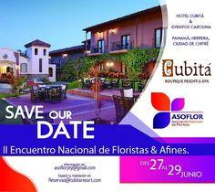 La cita es en @cubitapanama  del 27 al 29 de junio!!!! #asoflor  #asoflorpty