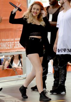 Perrie Edwards. Love her outfit!