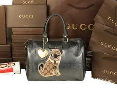 Gucci Joy Chien suprême Imprime Gucci handbags