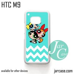 The Powerpuff Girls Chevron 1 Phone Case for HTC One M9 case and other HTC Devices