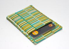 New to Chockrosa on Etsy: Multi colored thin wallet - Minimalist wallet - Business card holder - Business card case - Slim card wallet - Square card case