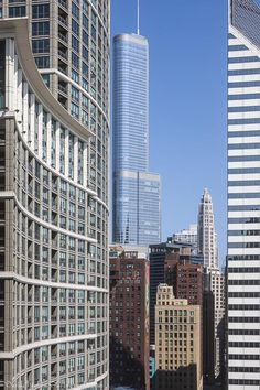 0430 Chicago architecture trump tower skyline buildings downtown photographs jpg