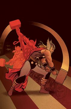 Thor by Joe Quinones
