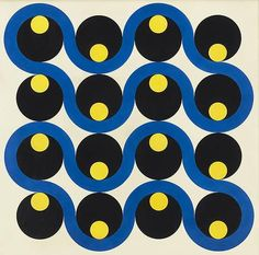 ALEXANDER LIBERMAN Beat, 1952 Enamel on aluminum, 42 x 42 in. (106.7 x 106.7cm)