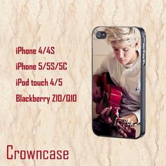 ipod 4 case,ipod 5 case,iphone 5s case,iphone 5c case,iphone 5 case,iphone 4 case,z10 case,q10 case--Niall Horan,in plastic and silicone. by CrownCase88, $14.99