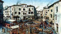Barrio de la Ribera. 1700 dc  BARCELONA