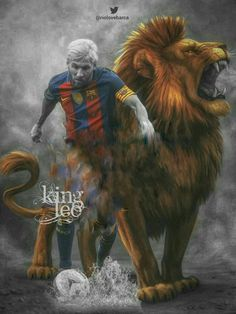 Messi the lion
