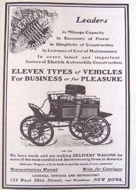 American Electric was a short-lived American automobile manufacturer that built cars from 1913 to 1914. It was an amalgamation of three electric car companies: Argo Electric, Borland Electric, and Broc.