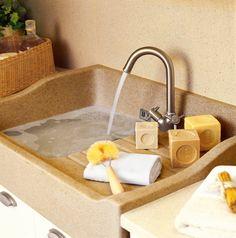 Un lavadero en «L» bien aprovechado · ElMueble.com · Otras estancias