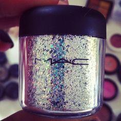 Mac & Glitter. It doesn't get much better...