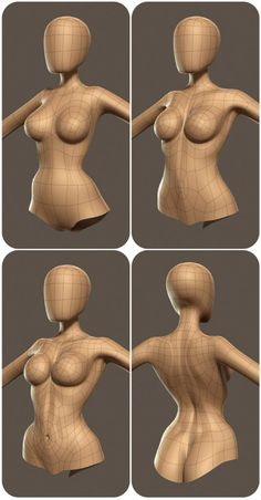 Dieses Modell zeigt unterschiedliche Dichten der Topologie, die alle überprüft… This model shows different densities of the topology, all of which are checked. 3d Model Character, Character Modeling, Character Creation, Game Character, Character Concept, Concept Art, Zbrush Character, Character Rigging, Polygon Modeling