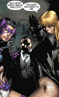Best images about black canary huntress on pinterest