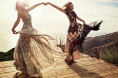 Make Art : EDITORIALES REVISTAS: Vogue Usa Taylor Swift & Karlie Kloss by Mikael Hansson