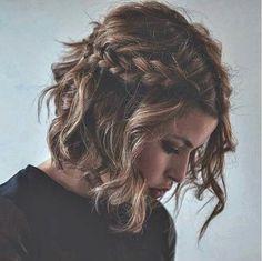 Short + sweet. I wonder if my hair would look good this way