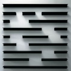 Cool shelving _ reminds me of I-ching