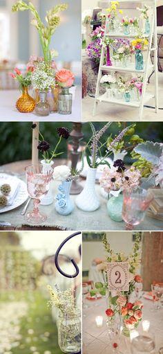 Ideas para decorar bodas con cristal