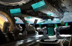 By Mark Yang.    - Again. Who doesn't want a command center of their own!