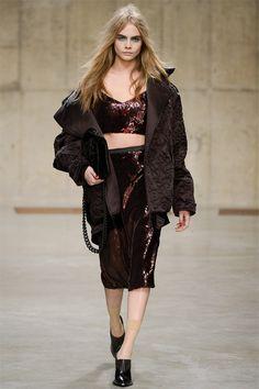 Cara Delevingne Style Inspiration London Fashion Week 2015, Cara Delevingne  Style, Winter Chic, 3e9f9a915f21