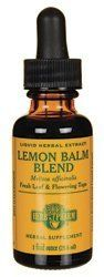 Herb Pharm Lemon Balm Blend Extract Mineral Supplement add a drop water to relive stress up to 3 times a day