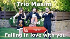 Elvis Presley Falling in love with you acoustic cover  Live recording of song Falling in love with you by Elvis Presley Arranged and performed by Trio Maxim