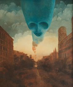 Layers of death, layers of fantasy, layers of reality are the things that come to my mind when I look at the artwork of the late Zdzislaw Beksiński. I can't even compare his work to anything I have seen in my lifetime. Today CVLT Nation would like to celebrate work