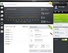 web admin panel templates