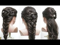 Top 3 Amazing Hairstyles Tutorials Compilation 2017 - YouTube