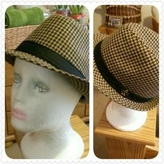 """Reduced! Tailored Made Hat by 4F """"Academy Fit"""" Brown and Black Color a nice addition to your closet. AF Academy Fit Accessories Hats"""
