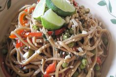 Spicy Thai Noodle Salad. Photo by magpie diner