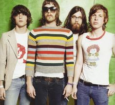 Kings of Leon back in the day