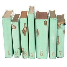 mint+old books is def. a acceptable palette