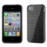 Speck Products SPK-A0010 PixelSkin HD TPU Case for iPhone 4/4S (AT & Verizon) - 1 Pack - Retail Packaging - Black (Wireless Phone Accessory)By Speck Products