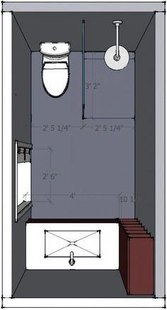 Bathroom Floor Plans Inspirational 5 X 10 Bathroom Layout Help Wel E Bathroom Layout Plans, Small Bathroom Layout, Very Small Bathroom, Bathroom Design Layout, Bathroom Floor Plans, Modern Bathroom Design, Bathroom Flooring, Bathroom Interior Design, Small Bathrooms