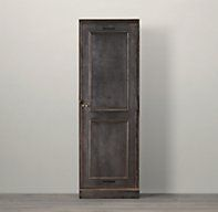 29W x 20D x 87H Circa 1900 French Locker
