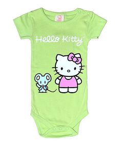 Hello Kitty Apple Hello Kitty Organic Bodysuit - Infant 28897f3d9838c