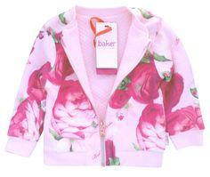 cc3091322d3b9 Ted Baker Girls Jacket Sweatshirt Floral Pink DESIGNER 3-4 Years for sale  online