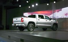 2014 Toyota Tundra White Rear Widescreen Wallpaper