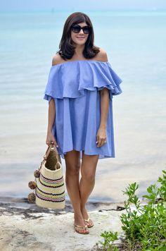 off-shoulder-resort-dress