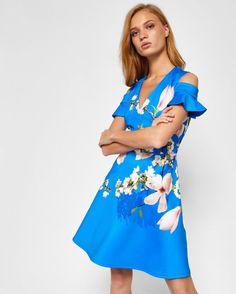 Harmony cold shoulder dress