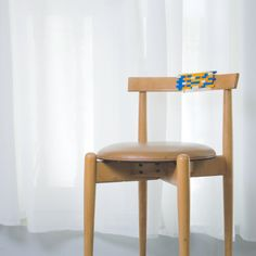 Have a damaged chair? Don't sit on it! Sort it out with LEGO bricks! Inspired by Kintsugi, the Japanese art of repairing with gold – here's LEGO TSUGI. #RebuildTheWorld