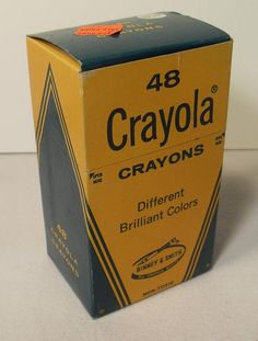 Crayola Crayons  We were told to get a box of 8, but there would always be some kid in the class that would have these and I thought they must be millionaires! Ironically, those kids were usually the ones that didn't color very well.