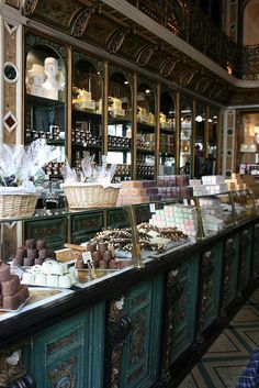 boulangerie || I'm wishful to have my own little bakery someday, along side my Rosey Tea Room X lynne ||Meert Patisserie in Lille, France
