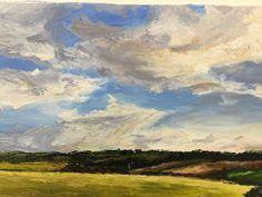 Emily - Impasto Landscape - oils. Class Of 2018, Landscape, Painting, Art, Art Background, Scenery, Painting Art, Kunst, Paintings