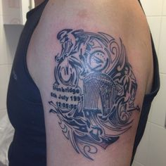 At last my Ironman tattoo!!