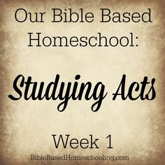 Studying Acts- Week 1 Paul Bible, Children's Bible, New Bible, Middle Ages, Middle School, Bible Lessons For Kids, Study Ideas, Christian Parenting, Bible Studies