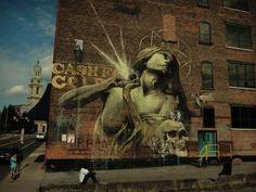 Faith47 #faith47 #urbanartists #streetartists #amazingurbanart #graffitiart #streetart #urbanart #graffiti #art