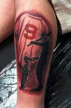 Baseball tattoo designs and ideas (31)