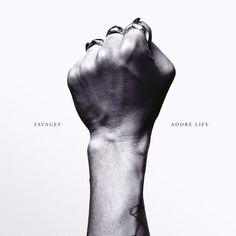 Savages' alternative rock album ADORE LIFE released by Matador Records via CD, and Vinyl. Patti Smith, Lp Vinyl, Vinyl Records, Vinyl Cover, Studios, Wall Of Sound, Life Review, Pochette Album, Album Covers